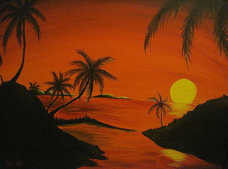 Sunset Beach by Ashley Warbritton
