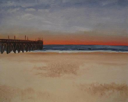 Sunset Beach by Jeffrey Oleniacz