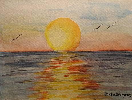 Sunset by Bonnie Schallermeir