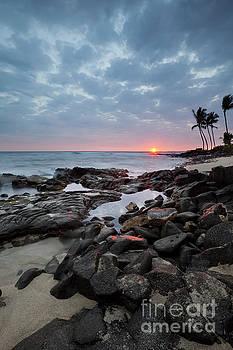 Charmian Vistaunet - Sunset Burst over Kona Hawaii