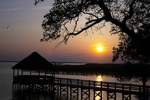 Sunset Gazebo 2010 by Mark Michel