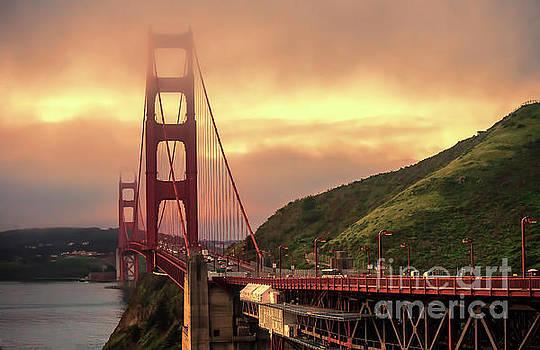 Chuck Kuhn - Sunset Golden Gate SF