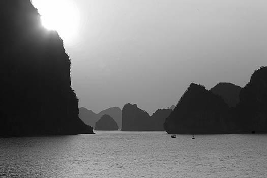 Chuck Kuhn - Sunset Ha Long Bay