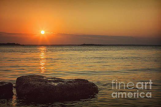 Sunset III by Margie Hurwich