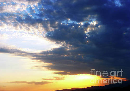 Sunset In A Blue Embrace by Jasna Dragun