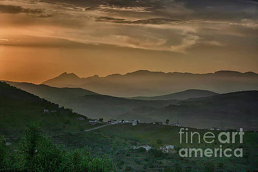Patricia Hofmeester - Sunset in Andalusia