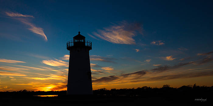 Sunset in Edgartown by Paul Treseler