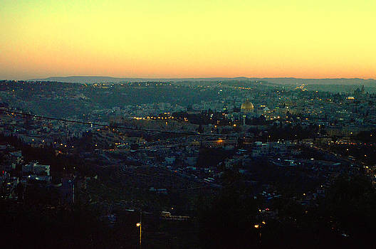 Sunset in Jerusalem REDONE by Alexander Mandelstam