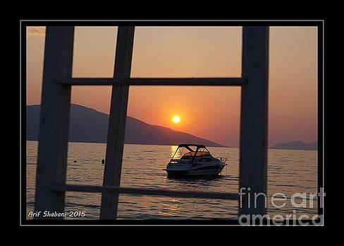 Sunset in Karaburun  by Arif Zenun Shabani