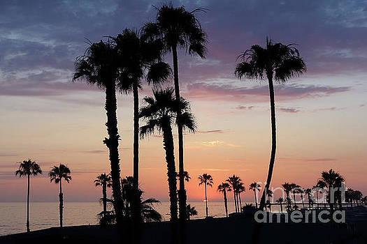 Sunset in Oceanside by Nina Prommer