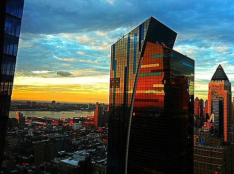 Sunset in the City by Lisa  Esposito