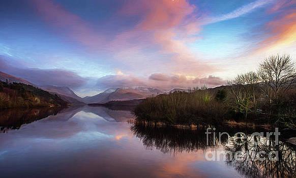 Adrian Evans - Sunset Lake