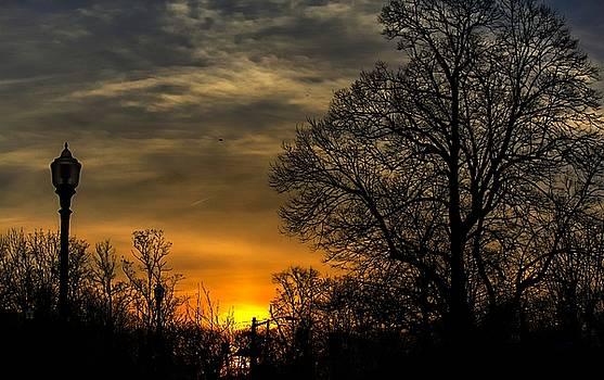 Sunset on Eagle Rock by Thomas Mack