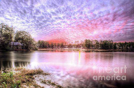 Sunset on Flint Creek by Maddalena McDonald