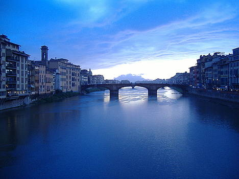 Sunset on Florence by Peter Aiello