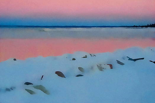 Sunset on Georgian Bay by Andrea Kollo