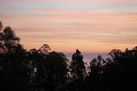 Sunset on Half Moon Bay  by Carolyn Donnell