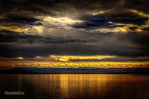 Sunset on Mono Lake CA by LeeAnn McLaneGoetz McLaneGoetzStudioLLCcom