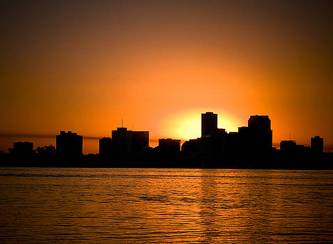 Sunset On New Orleans by Shawn McElroy