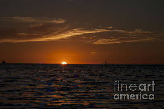 Sunset on Sea of Cortez by Ivete Basso Photography