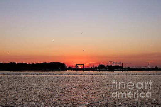 Scott Pellegrin - Sunset on the Cameron Ferry