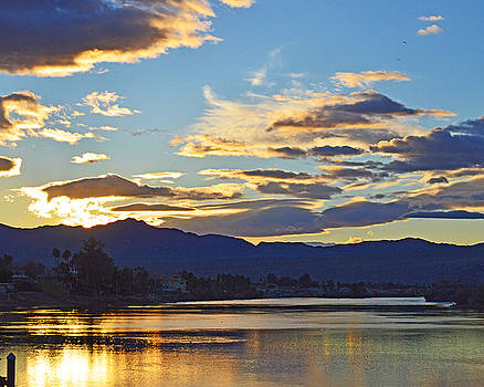 Sunset on the Colorado by Sue Houston