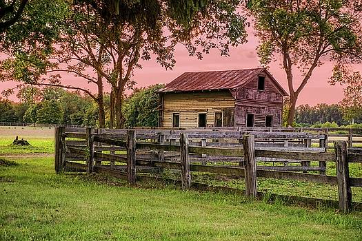 Sunset on the Farm by Mary Timman