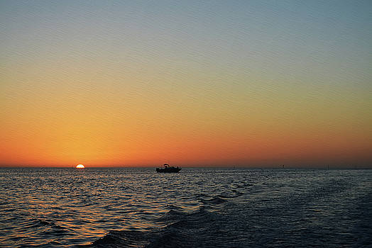 Sunset on the Horizon by Aimee L Maher Photography and Art Visit ALMGallerydotcom