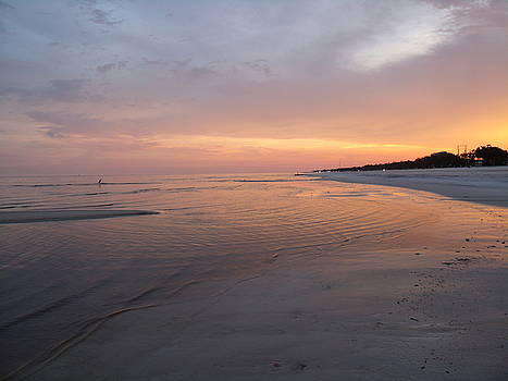 Sunset on the Mississippi Gulf Coast by Ann Kleinpeter