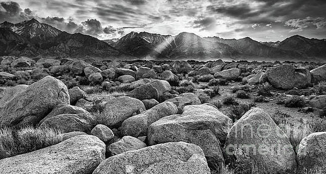 Sunset on the Sierna Nevada by Henk Meijer Photography