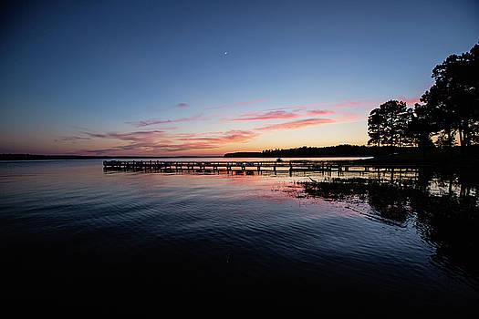 Sunset on Toledo Bend by Scott Pellegrin