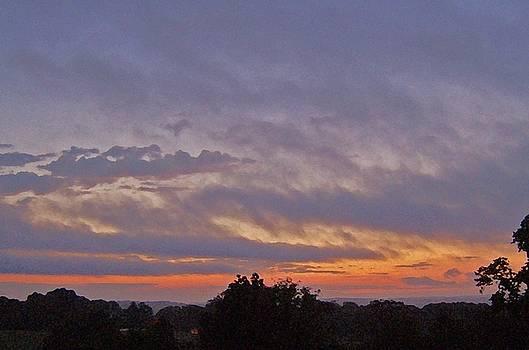 Sunset Over Kentucky by Skyler Tipton