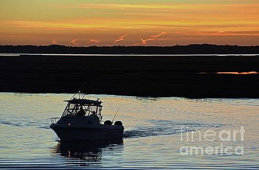 Sunset over Sea Isle by Cindy Manero