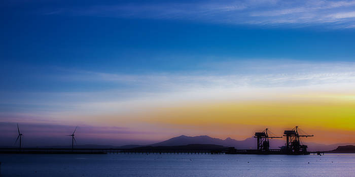 Sunset over The Clyde by Tylie Duff