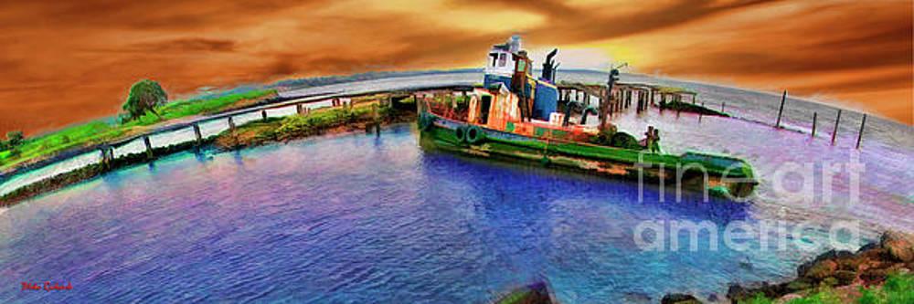 Blake Richards - Sunset OverTugboat Polaris