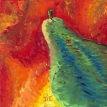 Sunset Pear by Davis Elliott