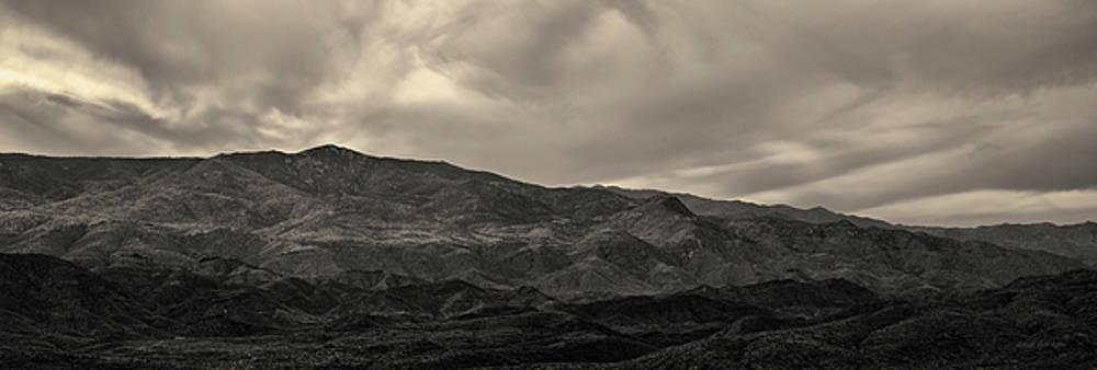 David Gordon - Sunset Point Arizona Panorama Toned