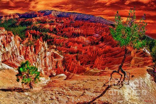 Sunset Point Bryce Canyon by Blake Richards