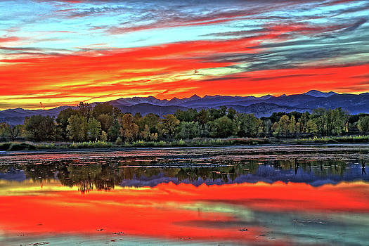 Sunset Ponds by Scott Mahon
