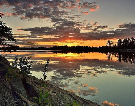 Sunset Reflection by Gregory Israelson