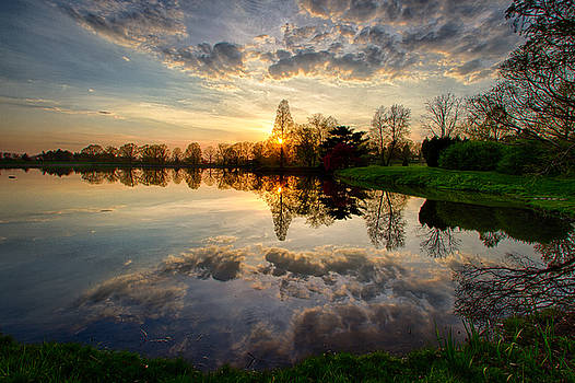 Sunset Reflections by Victoria Winningham