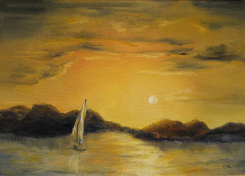 Diane Kraudelt - Sunset Sail