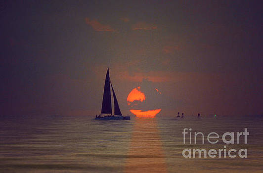 Jerry McElroy - Sunset Sail