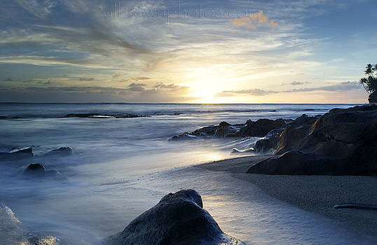 Sunset South Shores Diamond Head Oahu by Al Brown Photos