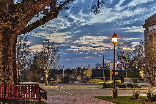 Sunset Square by Jimmy McDonald