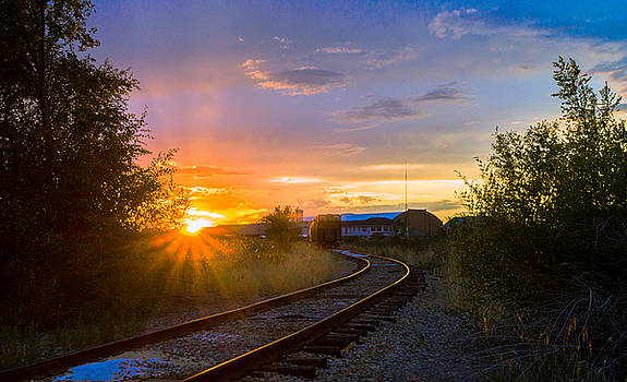 Sunset Station by Casey Stanford