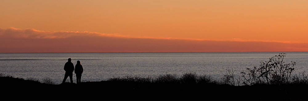 Sunset Stroll by Grace Dillon