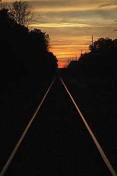 Sunset Tracks by Riley McCafferty