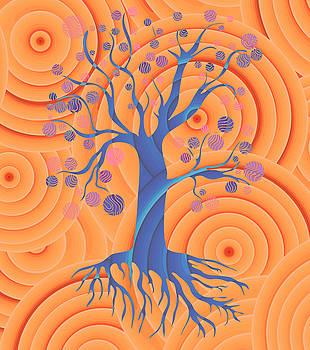 Frank Tschakert - Sunset Tree