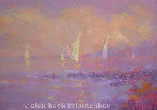 Sunset V by Alex Hook Krioutchkov
